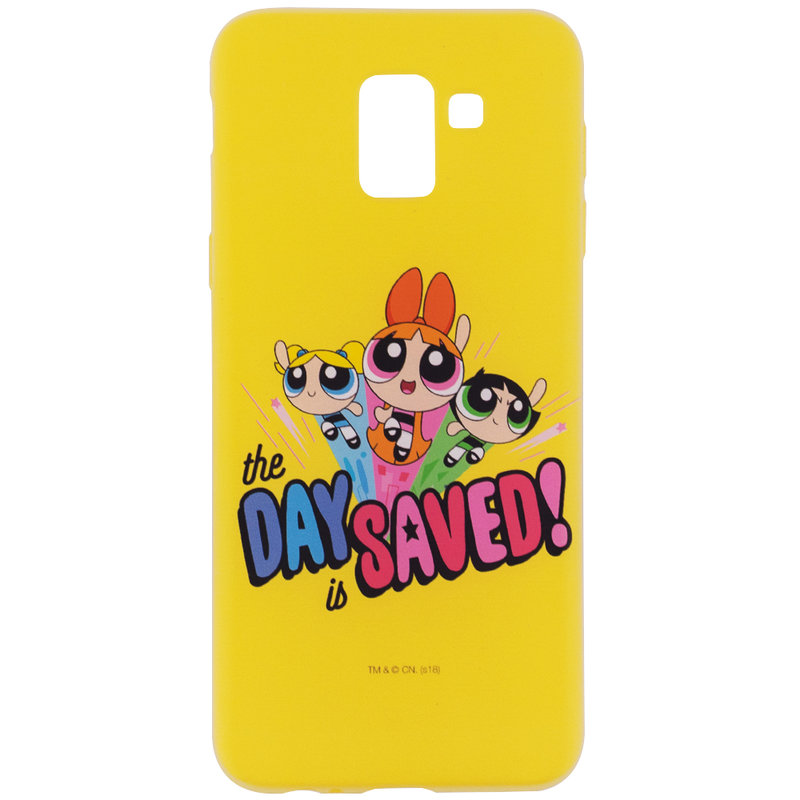 Husa Samsung Galaxy J6 2018 Cu Licenta Cartoon Network - The Powerpuff Girls