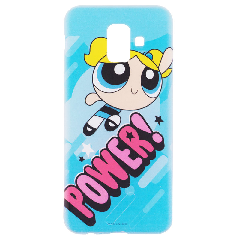 Husa Samsung Galaxy A6 2018 Cu Licenta Cartoon Network - Bubbles Power