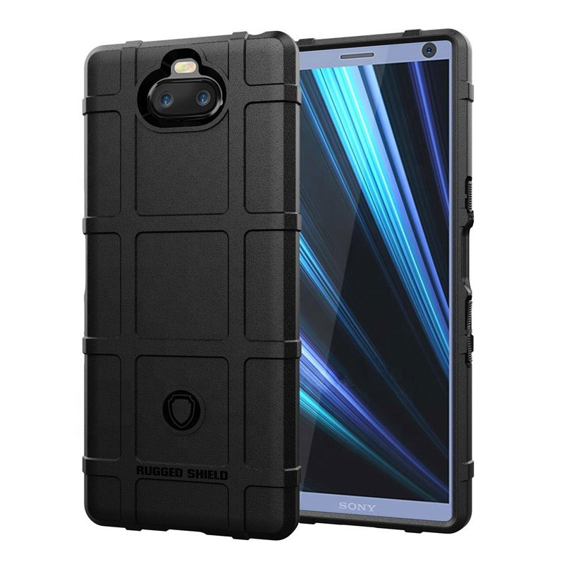 Husa Armor Sony Xperia 10 Mobster Shield - Negru
