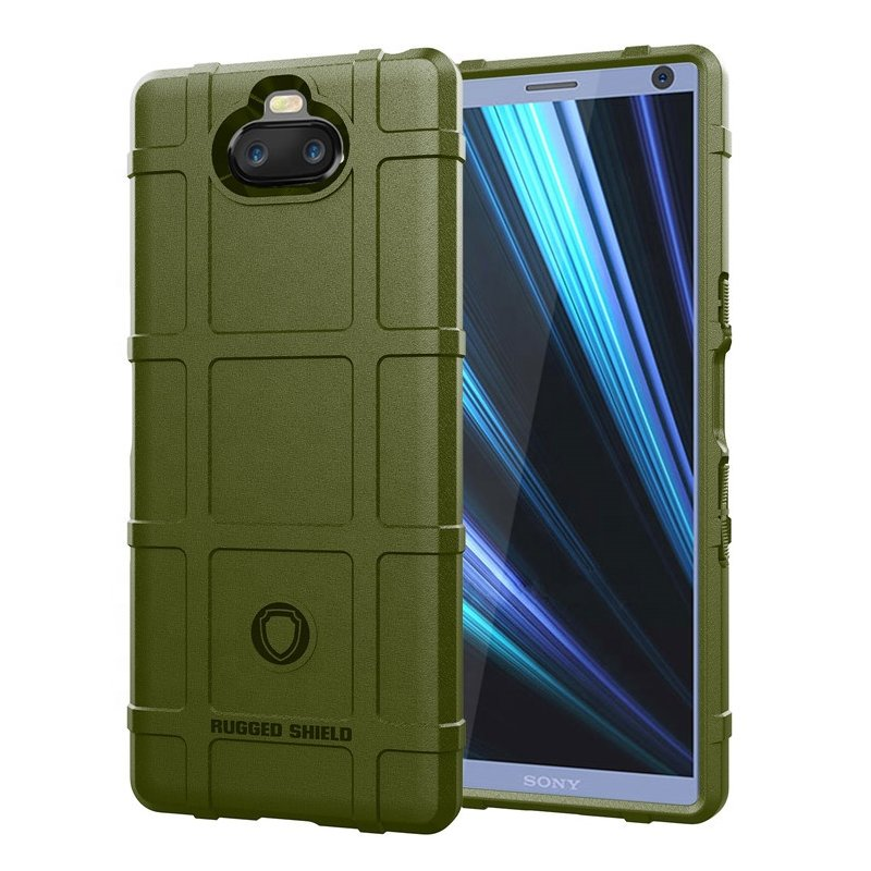 Husa Armor Sony Xperia 10 Mobster Shield - Verde