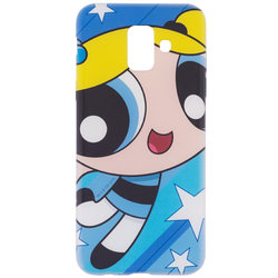 Husa Samsung Galaxy J6 2018 Cu Licenta Cartoon Network - Bubbles
