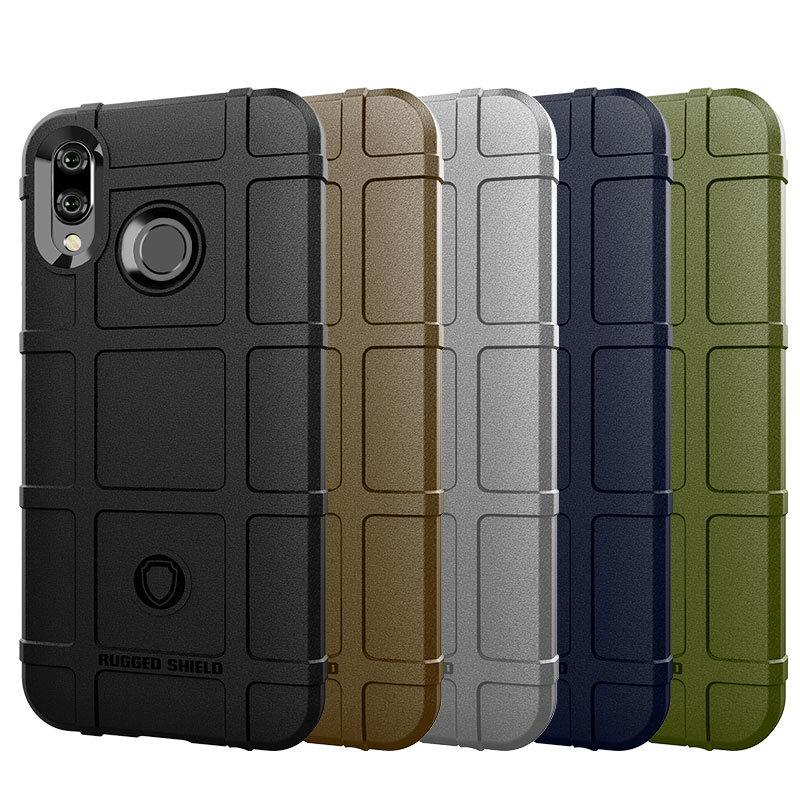 Husa Armor Huawei P20 Lite Mobster Shield - Albastru