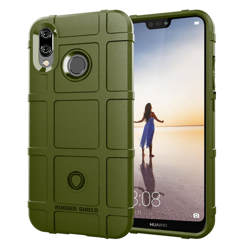 Husa Armor Huawei P20 Lite Mobster Shield - Verde