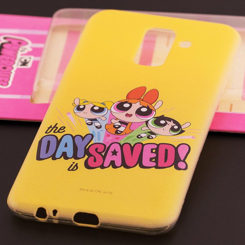Husa Samsung Galaxy A6 Plus 2018 Cu Licenta Cartoon Network - The Powerpuff Girls