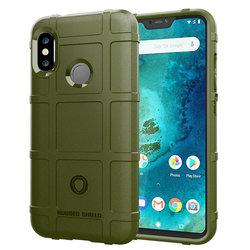 Husa Armor Xiaomi Mi A2 Lite Mobster Shield - Verde