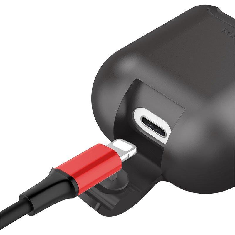 Incarcator Wireless Baseus Case pentru Apple AirPods - Negru