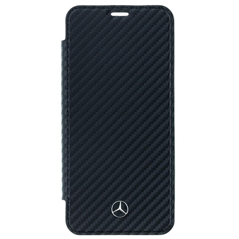 Husa Samsung Galaxy S9 Mercedes Organic II - Negru MEFLBKS9CFBK