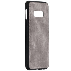 Husa Samsung Galaxy S10e Denim Cover - Gri