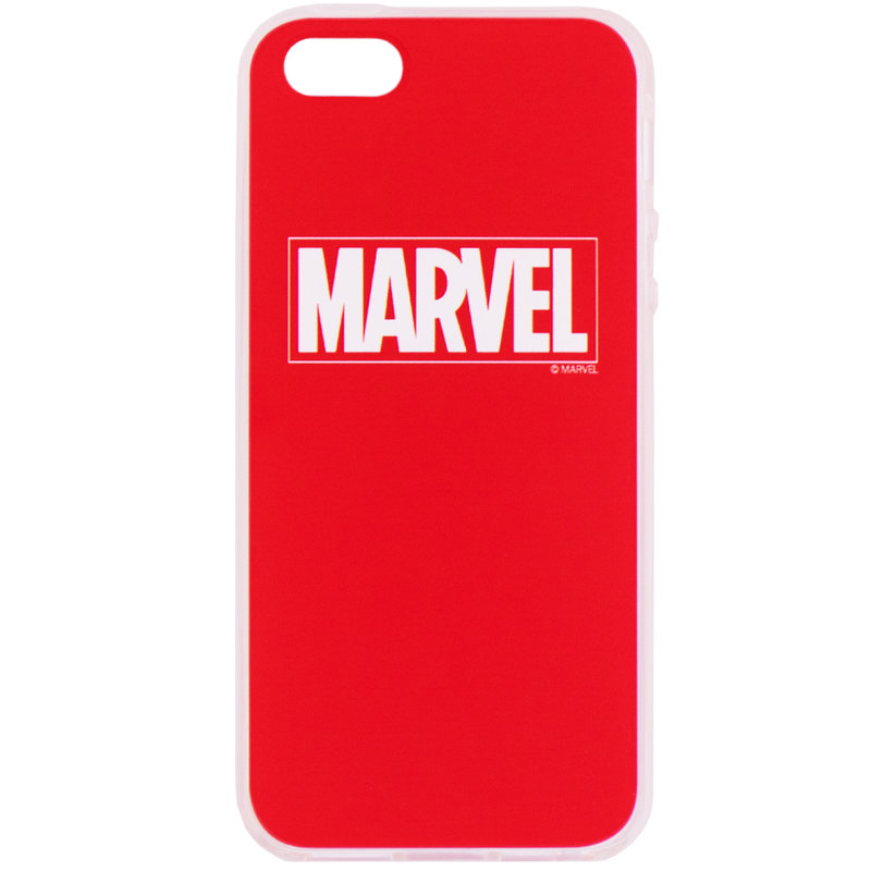 Husa iPhone 5 / 5s / SE Cu Licenta Marvel - Red Marvel