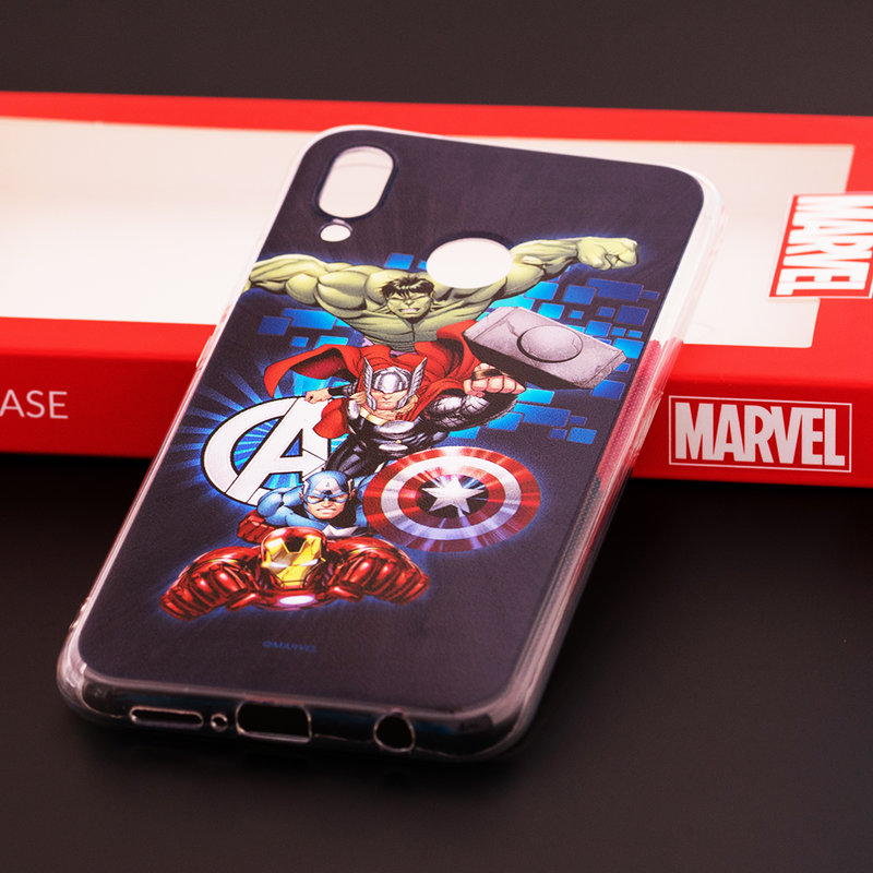 Husa Huawei P20 Lite Cu Licenta Marvel - Avengers