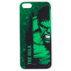 Husa iPhone 5 / 5s / SE Cu Licenta Marvel - The Hulk