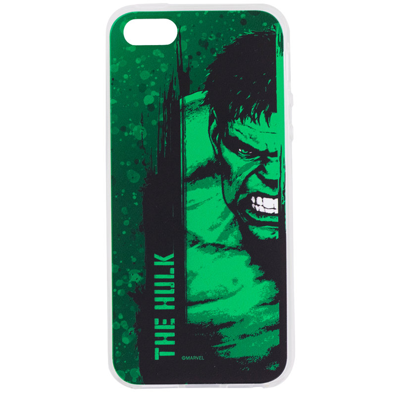 Husa iPhone 5 / 5s / SE Cu Licenta Marvel - The Hulk