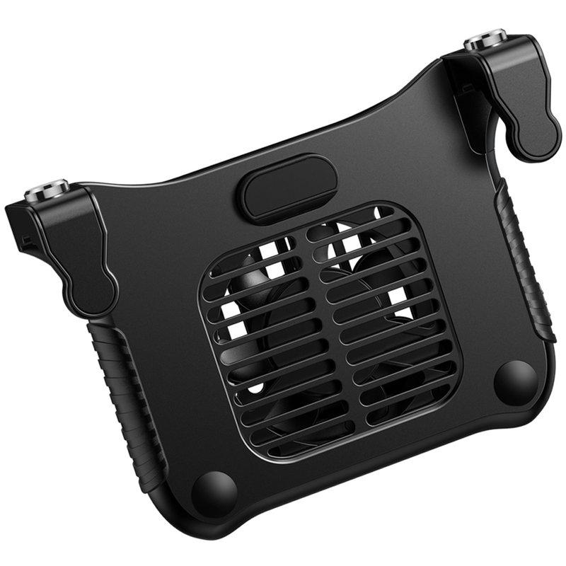 Add-On telefon Baseus Winner Air Triggers Plus Ventilator - Negru