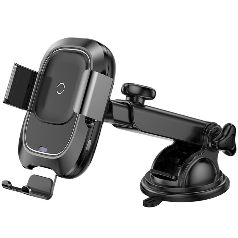Suport Auto Telefon Cu Incarcare Wireless Baseus Smart Vehicle - WXZN-B01 - Negru
