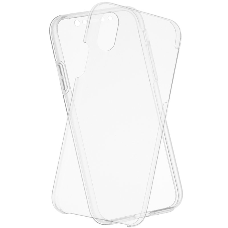 Husa Apple iPhone XS FullCover 360 - Transparent