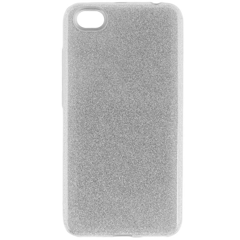Husa Xiaomi Redmi Note 5A Color TPU Sclipici - Argintiu