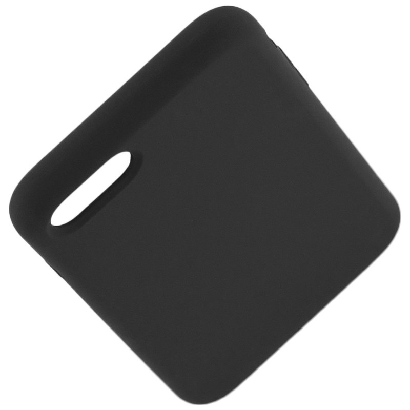 Husa iPhone 7 Silicon Soft Touch - Negru