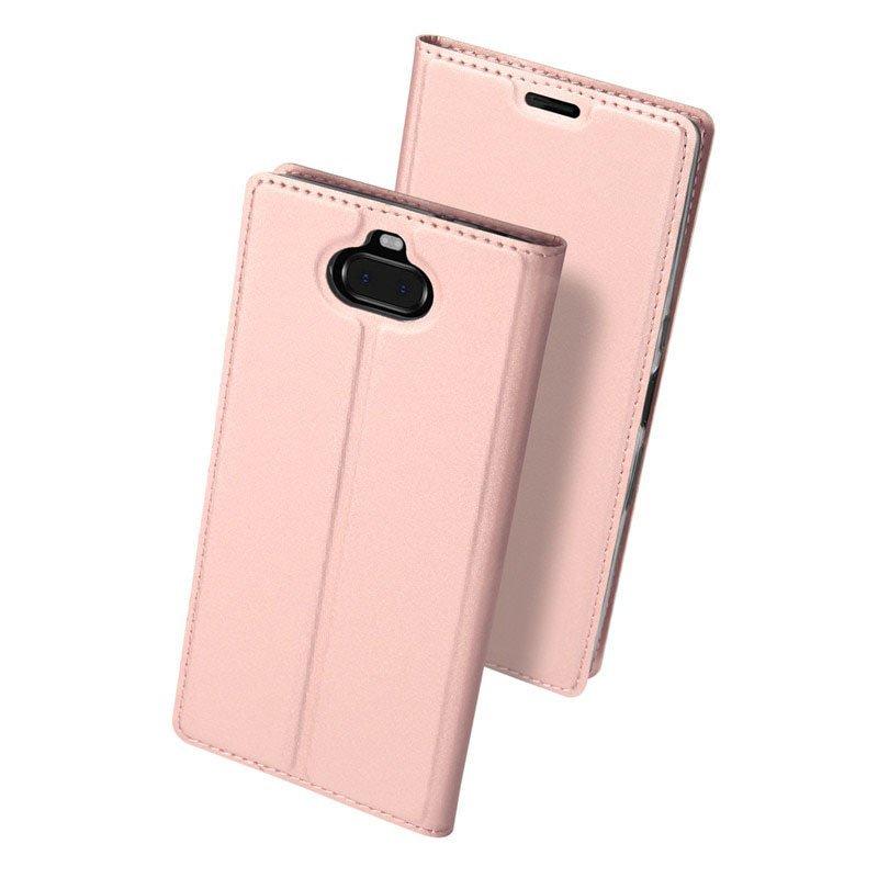 Husa Sony Xperia 10 Dux Ducis Flip Stand Book - Roz