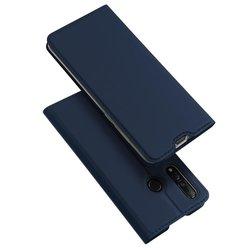 Husa Huawei Nova 4 Dux Ducis Flip Stand Book - Albastru
