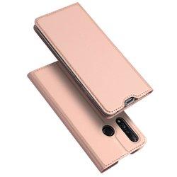 Husa Huawei Nova 4 Dux Ducis Flip Stand Book - Roz