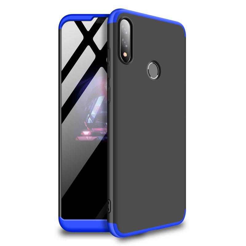 Husa Asus Zenfone Max Pro M2 ZB631KL GKK 360 Full Cover Negru-Albastru