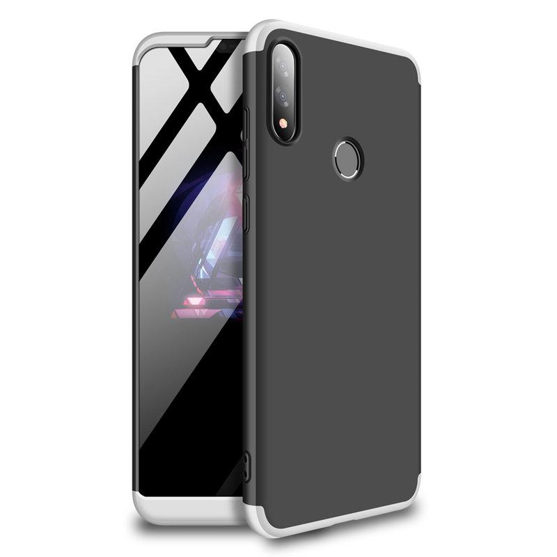 Husa Asus Zenfone Max Pro M2 ZB631KL GKK 360 Full Cover Negru-Argintiu