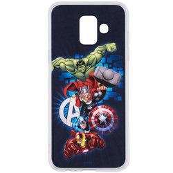 Husa Samsung Galaxy A6 2018 Cu Licenta Marvel - Avengers