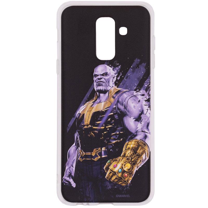 Husa Samsung Galaxy A6 Plus 2018 Cu Licenta Marvel - Thanos