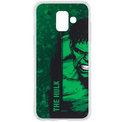 Husa Samsung Galaxy A6 2018 Cu Licenta Marvel - The Hulk