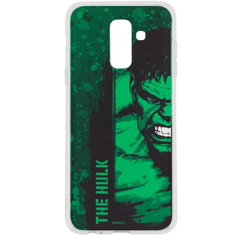 Husa Samsung Galaxy A6 Plus 2018 Cu Licenta Marvel - The Hulk