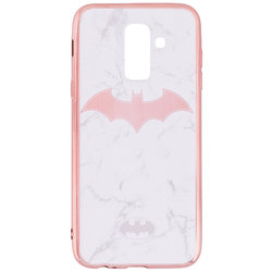 Husa Samsung Galaxy A6 Plus 2018 Cu Licenta DC Comics - White Batman