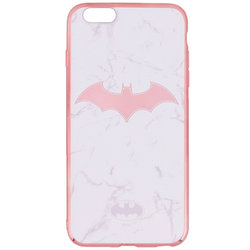 Husa iPhone 6 Plus / 6s Plus Cu Licenta DC Comics - White Batman