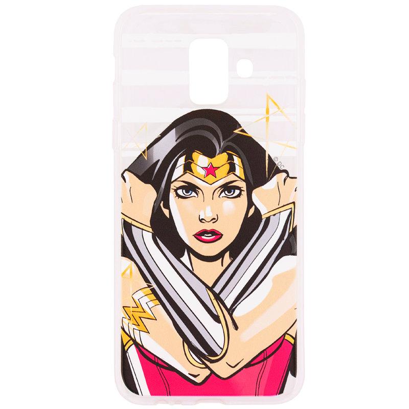 Husa Samsung Galaxy A6 2018 Cu Licenta DC Comics - Wonder Woman
