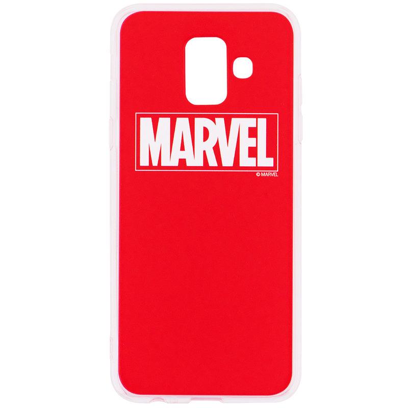 Husa Samsung Galaxy A6 2018 Cu Licenta Marvel - Red Marvel