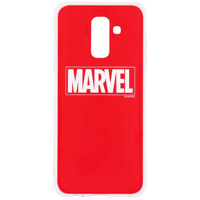 Husa Samsung Galaxy A6 Plus 2018 Cu Licenta Marvel - Red Marvel