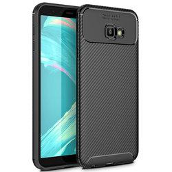 Husa Samsung Galaxy J4 Core Mobster Carbon Skin Negru
