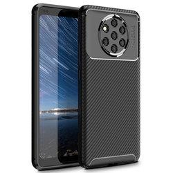 Husa Nokia 9 Mobster Carbon Skin Negru