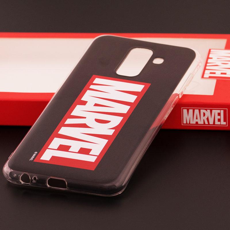 Husa Samsung Galaxy A6 Plus 2018 Cu Licenta Marvel - Marvel Comics