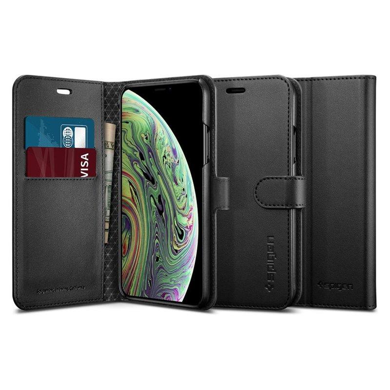 Husa Samsung Galaxy A8 2018 A530 Spigen Wallet S - Black