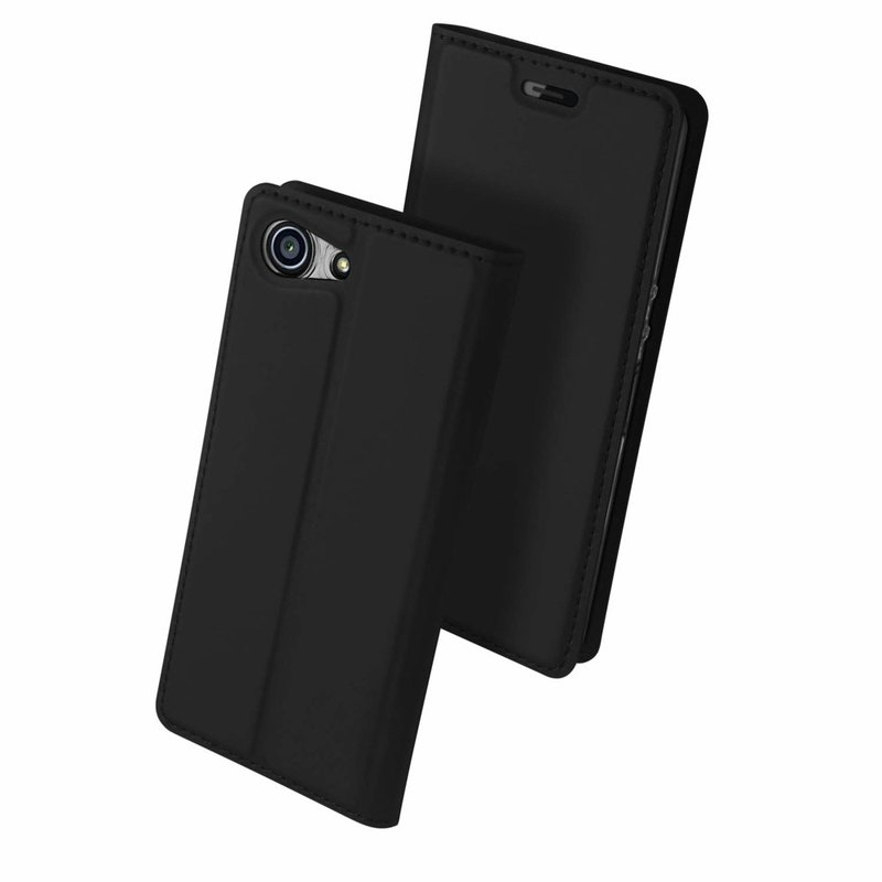 Husa Sony Xperia XZ4 Compact Dux Ducis Flip Stand Book - Negru