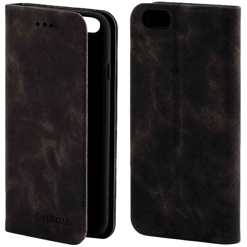 Husa iPhone 6 / 6S Forcell Silk Wallet - Black