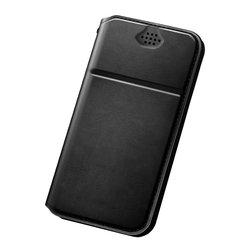 Husa Dux Ducis pentru telefoane intre 5.2 - 5.5 inch - Flip Negru