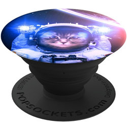 Popsockets Original, Suport Cu Functii Multiple - Catstronaut