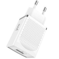 Incarcator Priza Hoco C42A 3A 18W Fast Charge 3.0 Qualcomm - Alb