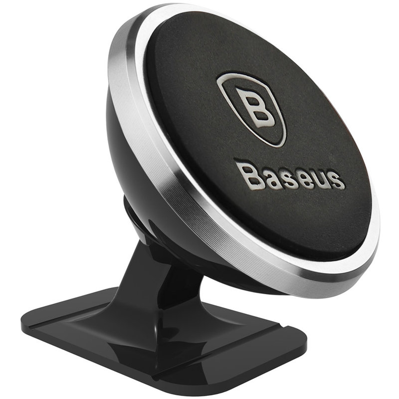Suport Auto Magnetic Baseus 360 Pentru Telefon - SUGENT-NT0S - Argintiu