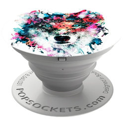 Popsockets Original, Suport Cu Functii Multiple - Wolf