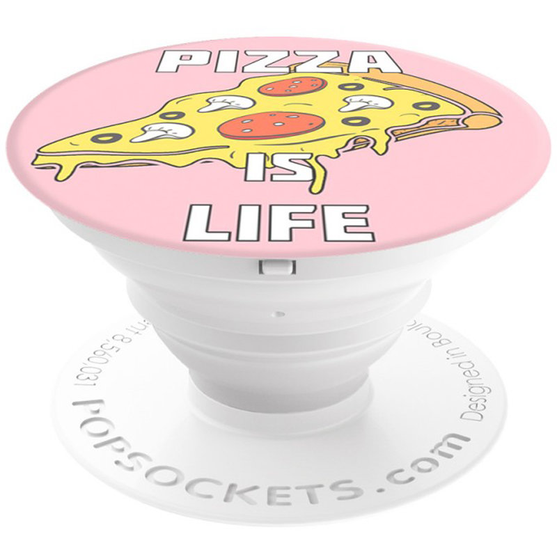 Popsockets Original, Suport Cu Functii Multiple - Pizza is Life