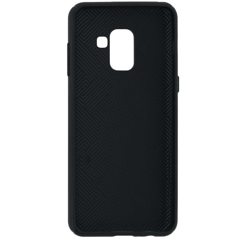 Husa Samsung Galaxy A8 2018 A530 Goospery Style Lux TPU Negru