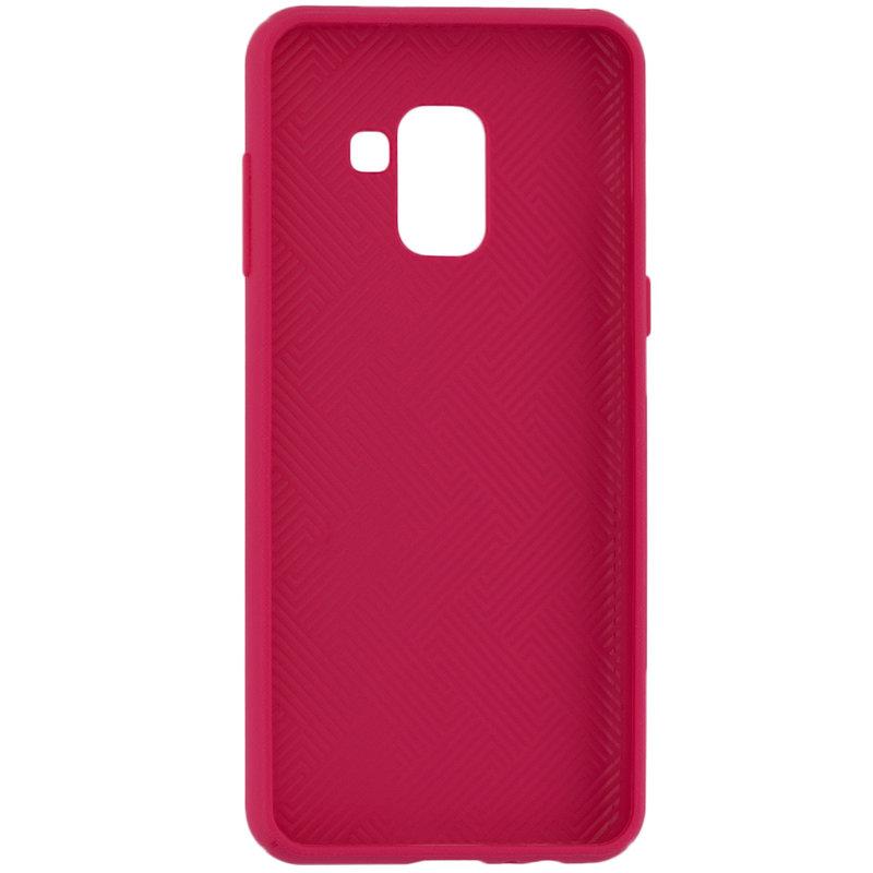 Husa Samsung Galaxy A8 2018 A530 Goospery Style Lux TPU Roz