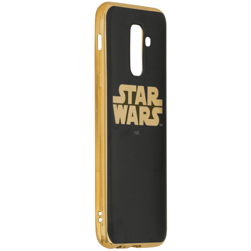 Husa Samsung Galaxy A6 Plus 2018 Cu Licenta Disney - Star Wars Luxury Chrome
